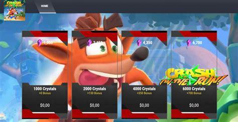 Crash Bandicoot On The Run Hacks Android