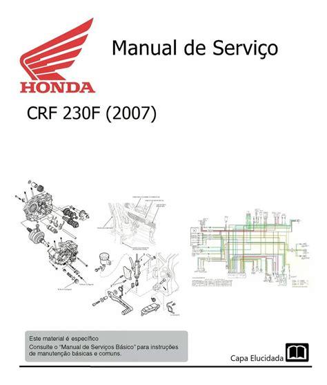Crf230 Service Manual