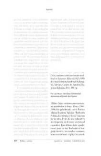 Crisis Rentismo E Intervencionismo Neoliberal En La Banca Mexico 1982 1999