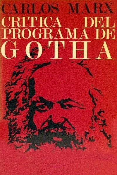Critica Del Programa De Gotha Spanish Edition