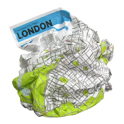 Crumpled City From The Air London Crumpled City Maps