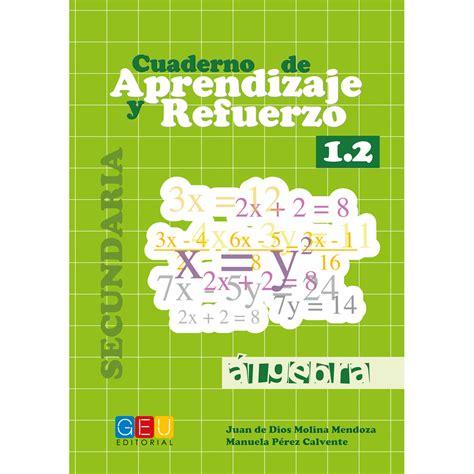 Cuaderno De Aprendizaje Y Refuerzo 1 2 Algebra