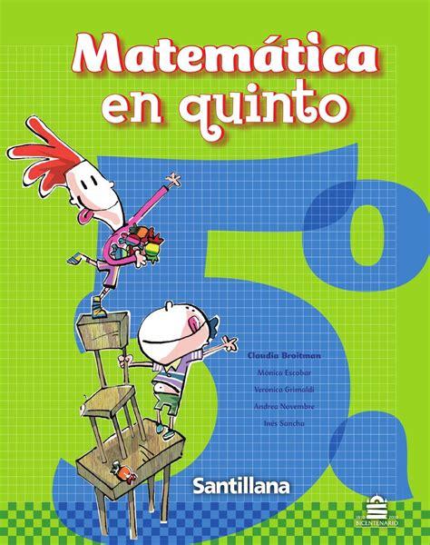 Cuaderno De Matematicas 5o Primaria