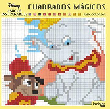 Cuadrados Magicos Grandes Clasicos Disney Hachette Heroes Disney Colorear