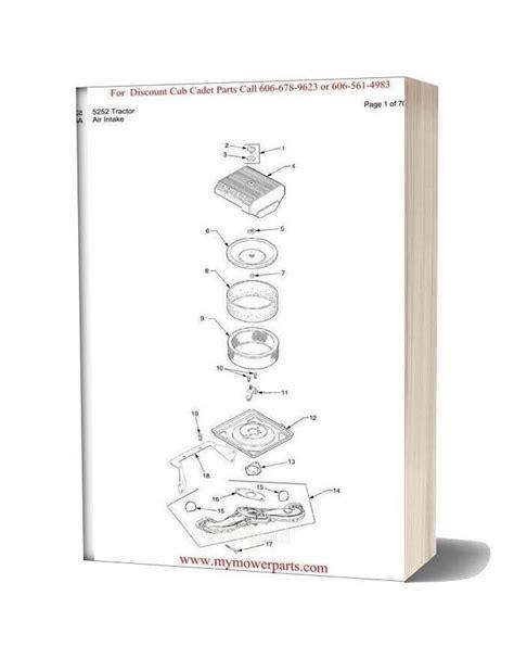 Cub Cadet 5252 Parts Manual