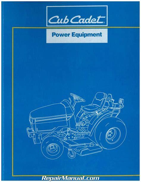 Cub Cadet Series 7000 Model 7192 Factory Service Workshop Manual