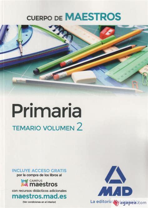 Cuerpo De Maestros Primaria Temario Volumen 2 9788414201800