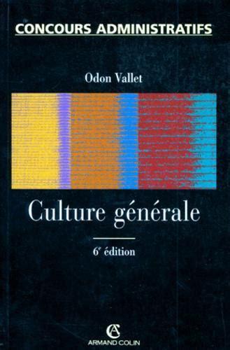 Culture Generale 6eme Edition 1997