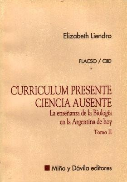 Curriculum Presente Ciencia Ausente