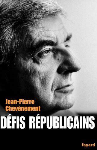 Défis républicains (Documents)