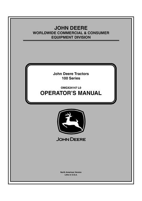 D110 Operators Manual