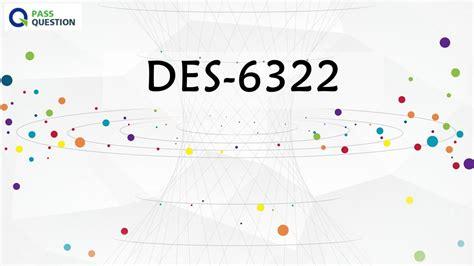 DES-6322 Reliable Test Tutorial