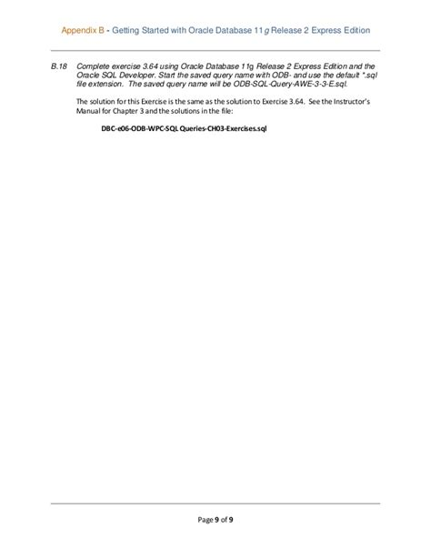 Database Concepts 6th Edition Instructor Manual