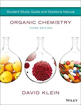 David Klein Organic Chemistry Solutions Manual