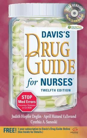 Daviss Drug Guide For Nurses 12th Twelve Edition