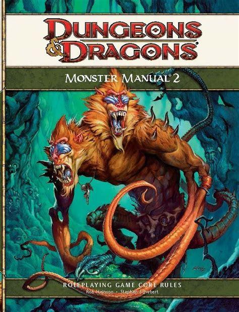 Dd 4e Monster Manual 2