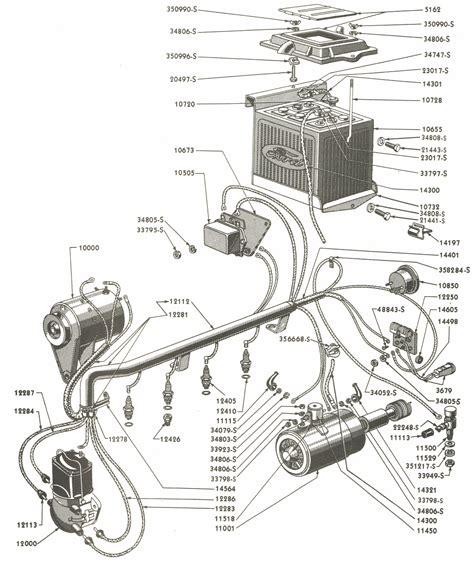 Deisel Ford 3000 Ignition Wiring Diagram