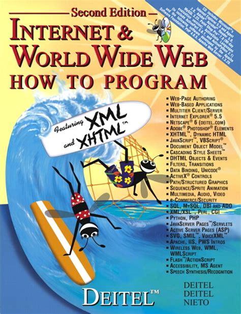 Deitel Internet World Wide Web Answers