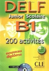 Delf Junior Scolaire A2 200 Activits 1cd Audio