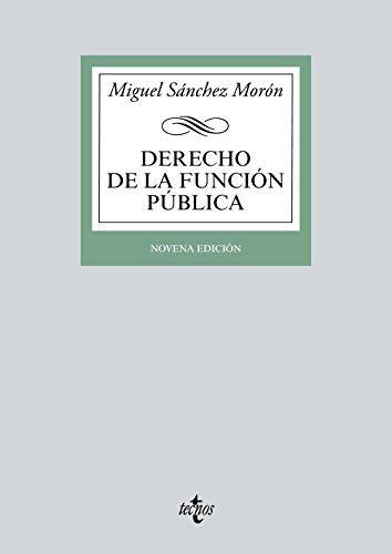 Derecho De La Funcion Publica Biblioteca Universitaria De Editorial Tecnos Dig