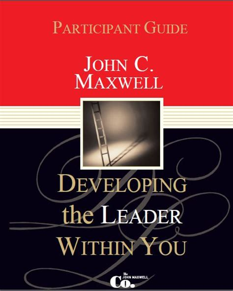 Developing The Leader Within You Leader Guide