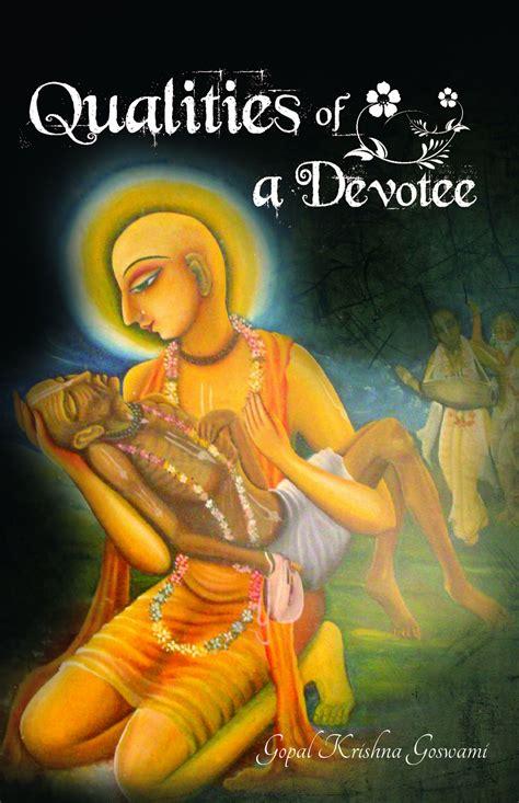 Devotional Books Qualities Of A Devotee By Gopal Krishna Goswami