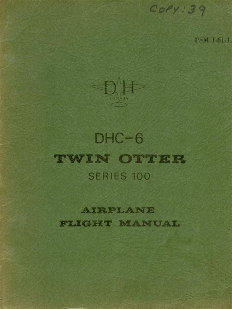 Dhc 6 Flight Manual