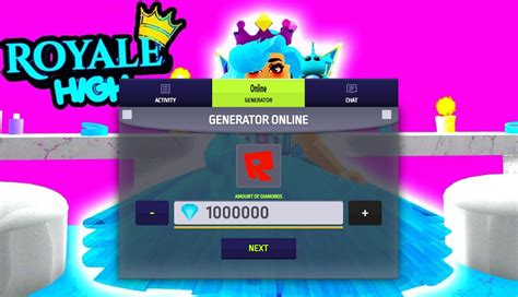 The 5 Tips About Diamonds Royale High Generator