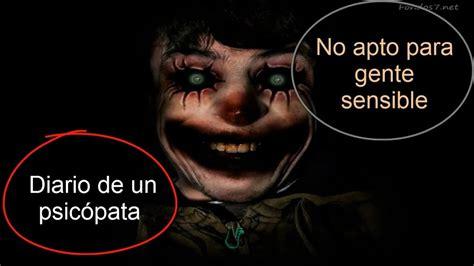 Diario De Un Psicopata