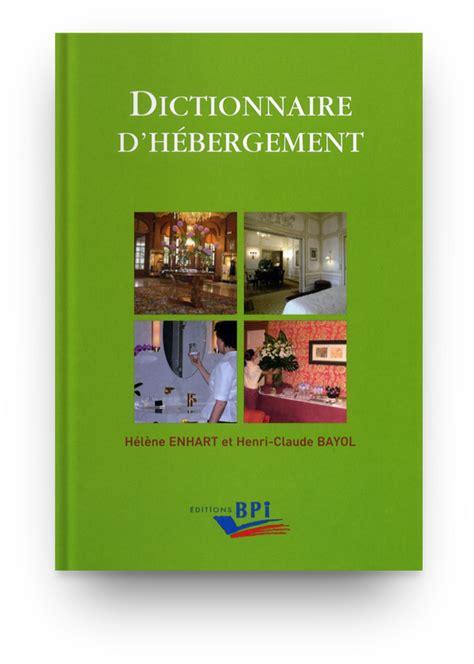 Dictionnaire D Hebergement