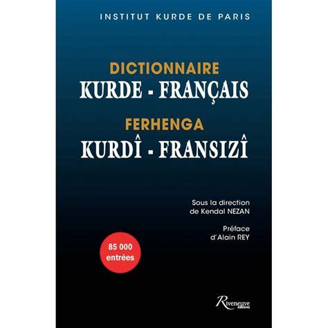 Dictionnaire Francais Kurde