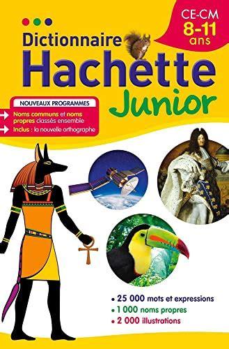 Dictionnaire Hachette Junior