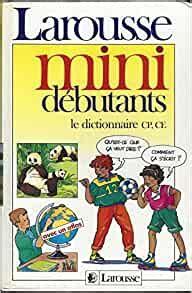 Dictionnaire Mini Debutants