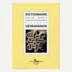 Dictionnaire Occitan Francais Dialecte Gevaudanais