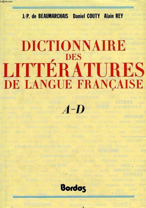Dictionnaire des littératures