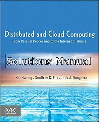 Distributed Computing Solution Manual