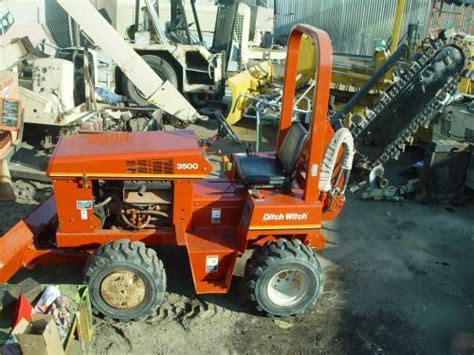 Ditch Witch Trencher 3500 Service Manual
