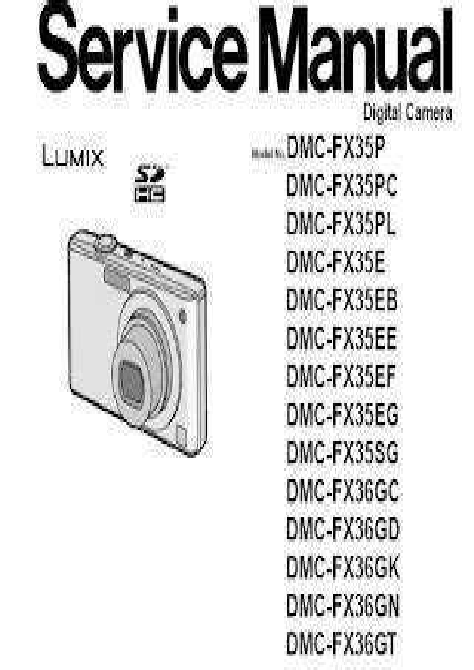 Dmc Fx35 Service Manual