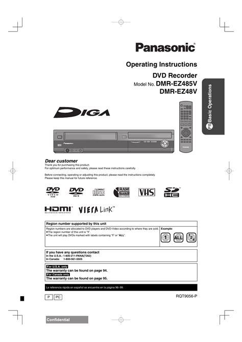 Dmr Ez48v Manual