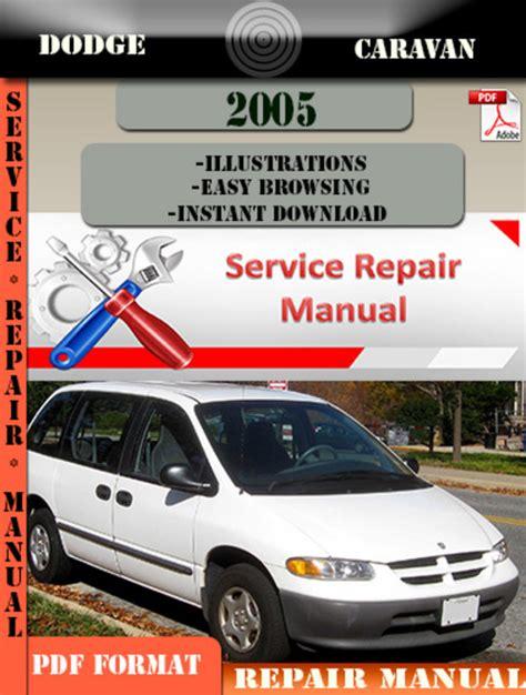 Dodge Caravan 2005 Factory Service Repair Manual