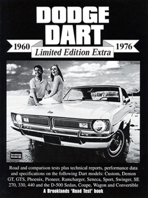 Dodge Dart Limited Edition Extra 1960 1976