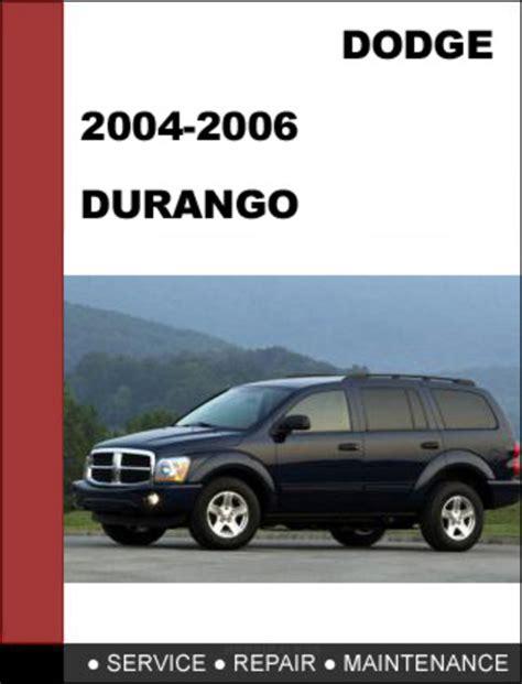 Dodge Durango 2004 2006 Parts Manual