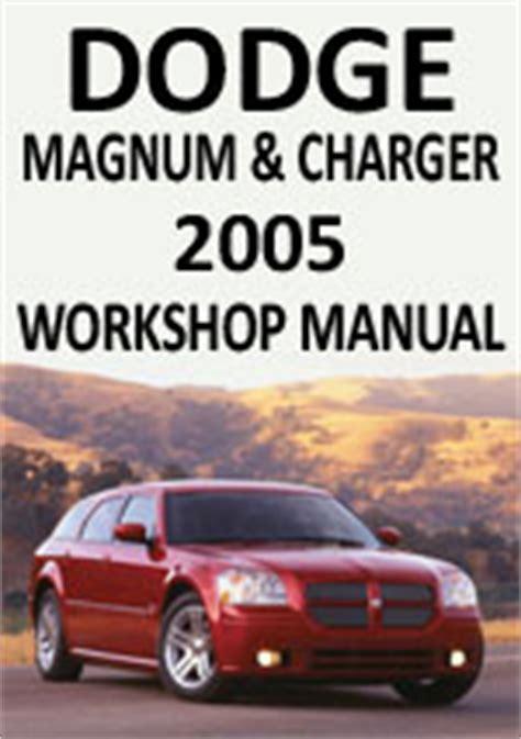 Dodge Magnum Repair Manual