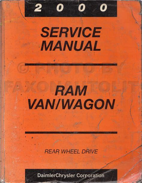 Dodge Ram Van Owner Manual