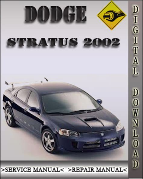 Dodge Stratus Service Repair Manual