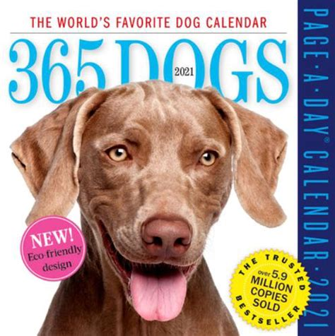 Dog Page A Day Gallery Calendar 2019