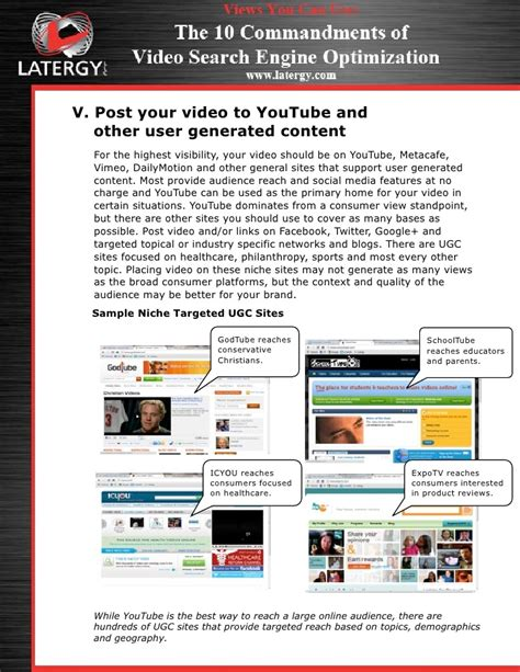 Dominate Search Engines With The 10 Commandments of SEO