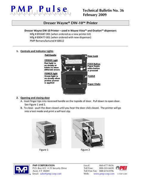 Dresser Wayne Ovation Service Manual