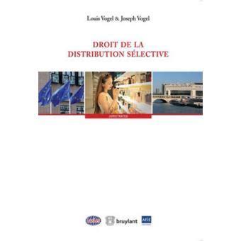 Droit De La Distribution Selective