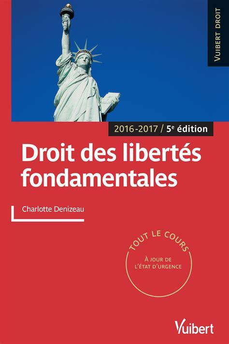 Droit Des Libertes Fondamentales